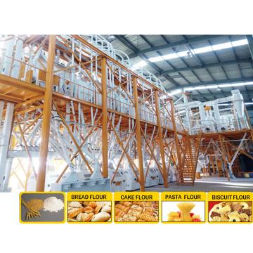 Molino de harina automático PLC Molino de harina de trigo Molino de harina de trigo