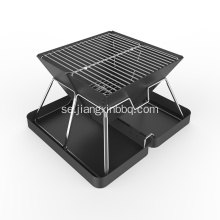 High Compact Folding Charcoal BBQ Grill
