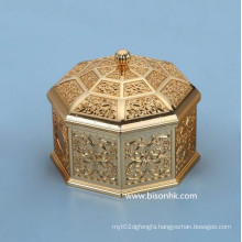 Retro Design Custom Metal Jewelry Box Wholesale, Antique Metal Jewelry Box