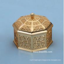 Retro Design Custom Metal Jewelry Box Wholesale, Antique Metal Jewelry Box
