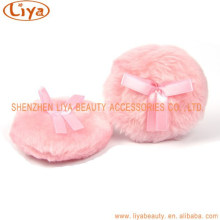 Niedliche rosa Plüsch kosmetische Blätterteig machen sich Werkzeug Großhandel