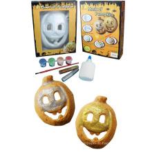 Bricolage enfants masque de citrouille d'Halloween masque de dessin animé de masque créatif