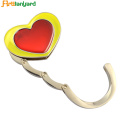 Heart Bag Hanger Dengan Nikel Plating