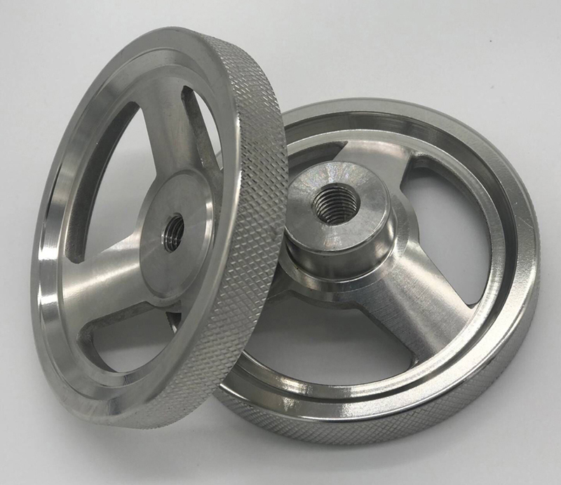 Customized Investment Casting Steel Hand Wheel For Mechanical Arm