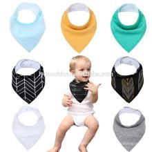 Бандана слюни Нагрудники треугольник шарф мальчиков модные детские детей ясельного возраста обед кормления нагрудник
