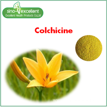 Good Quality for China Natural Active Monomer,Plant Ingredients,Extract Powder,Rutin Manufacturer Colchicine 98% HPLC supply to Malta Manufacturers
