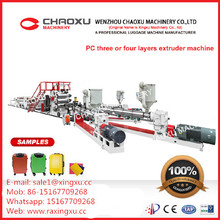 PC-Plastikblatt-Verdrängungs-Maschine der hohen Komponenten PC (YX-23P)