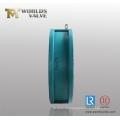 Vollgummi-Butterfly-Doppelplatten-Rückschlagventil mit Ce-ISO-Zulassung