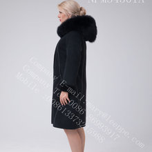 Bright Thread Decoratie Australië Merino Shearling Lady Coat