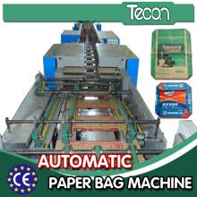Máquina de sacos de papel multifunções de alta velocidade com sistema servo