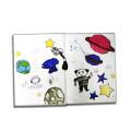 Libro de encargo profesional de la alta calidad del libro de niño Hardvover