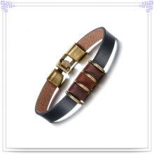 Кожаный браслет кожи браслета способа ювелирных изделий способа (LB375)
