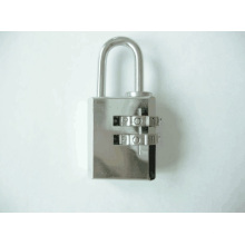 21mm Chrome Plated Brass Combination Padlock (110212)