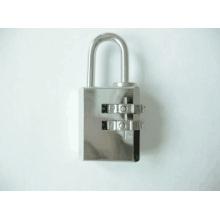Cadeado de combinação de latão cromado de 21mm (110212)