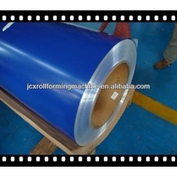 Стальные катушки RAL PPGI с верхним покрытием 15-25 мкм, обратное покрытие 5-15um