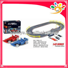 1 43 F1 electric toy race track by hand 220cm long track toy car with hand generator