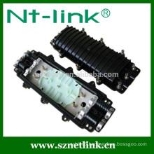 Netlink horizontal type 12-144 core fiber optical splice closure