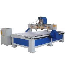 Multi-head woodworking engraving machine 3D wood cutting machine
