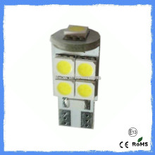 High lumens 9-SMD 5050 conduit l'ampoule automobile