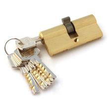 Латунный замок цилиндра, замок цилиндра замка, ключ замка цилиндра компьютера (AL-70)
