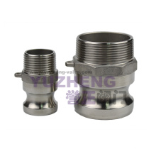 Stainless Steel Male Thread Camlock Coupling