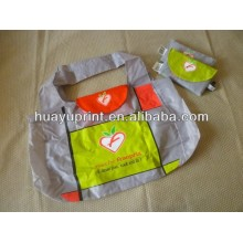 The cross section of polyester supermarket shopping bag/The new 2014 folding shopping bagAT-1066