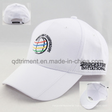 Top Quality Polyester Microfiber Fabric Sport Golf Cap (TMR4481)