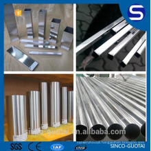 304 316 201 stainless steel round square tube for food/decorate