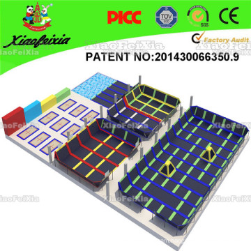 Xiaofeixia Trampoline Park--Design, Manufacture, Field Assembly. Top Quality, Top Service