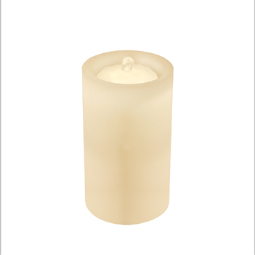 Multi-color rechargeable Fountain LED candle