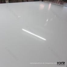Weiße Quarzplatten, Quarzkristallsteinfliesen, weißer Kristallkristallstein
