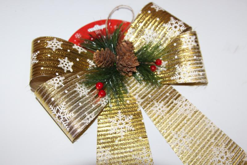Christmas Gift Ribbon Bow