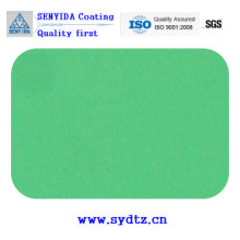 Pulverlackfarbe von blau grün
