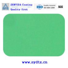 Pintura de revestimento em pó de verde azul