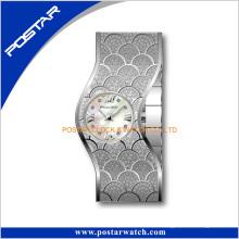Nuevo diseño pulsera de mujer reloj a + calidad