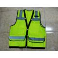 Chaleco de seguridad de alta visibilidad chaleco antibalas reflexivo del Workwear