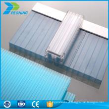 folha de policarbonato de parede multi-parede