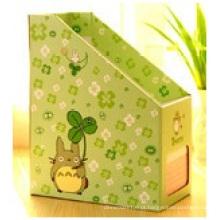 Desktop Boxes Homeware, caixa de armazenamento de arquivo de papel de prateleira para o Office