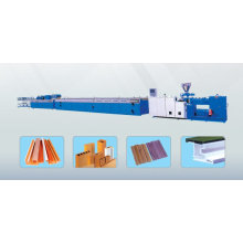 wave plate extruding machine