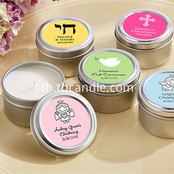 occasion design travel scented tin candles