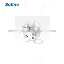 Unidade de sucção de flegma portátil do hospital, máquina de sucção médica Certificado CE e ISO, Unidades de sucção portátil