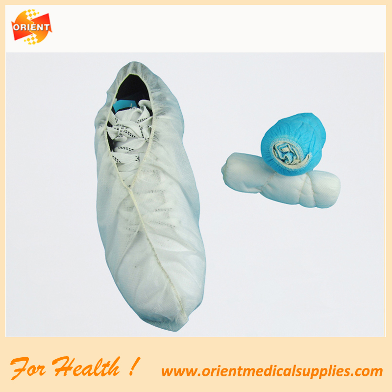 Disposable beschermende cleanroom shoe cover