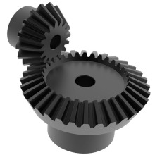 Custom Hobbing Machined Steel Steering Bevel Gear Set