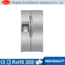 Refrigerador de acero inoxidable BCD-550 con dispensador de agua