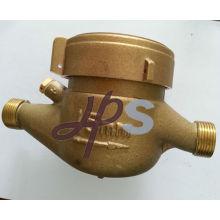 Corpo do medidor de água de bronze para multi jet meter