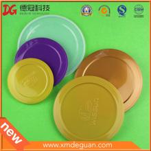 300 # / 307 # / 401 # / 502 # Metall-Zinn-Dose Plastikabdeckungen