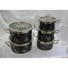 Fashion Design Stainless Steel Cooking Pot Cookware Set