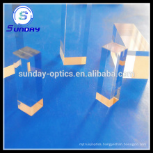 Optical square cylinder rod lens (JGS1 fused silica)