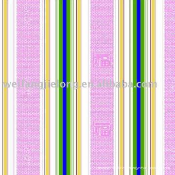 impression numérique de poly / coton dans le tissu de fleur américain