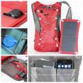 ECEEN vente chaude imperméable ployester sac équitation pour le sport en plein air photo sport chargeur solaire sac à dos